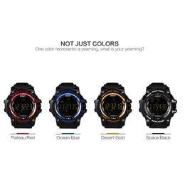 $enCountryForm.capitalKeyWord Australia - EX16 smart watch camouflage watch Watch Bluetooth IP67 waterproof Remote Camera Fitness Tracker Wearable Running wristwatch for IOS Android
