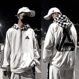 d00f5acfe2f2 18SS Fashion PALACES hoodies men women spring autumn winter striped slevee  hoodies cotton unisex sweatshirts tide skateboard tops size M-XXL