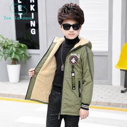 $enCountryForm.capitalKeyWord NZ - Zoe Saldana 2018 Jacket For Boys Baby Outerwear Coat Kids Spring Autumn Plus Velvet Clothes Children Clothing Winter Windbreaker