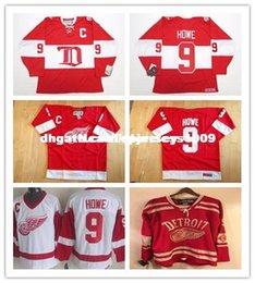ed58f5d5e Cheap custom GORDIE HOWE DETROIT RED WINGS ALUMNI VINTAGE CCM 2014 HOCKEY  JERSEY Personalized customization Men s Retro ice Hockey jersey