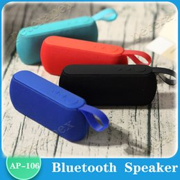 phone dock radio UK - HIFI Portable wireless Bluetooth Speaker Stereo Soundbar TF FM Radio Music Subwoofer Column Speakers for Computer Phone