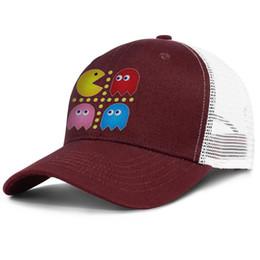 Browns onesie online shopping - Fashion Mesh Trucker hats Men Women Pac Man Grid Onesie designer cap snapback Adjustable Summer hat Outdoor