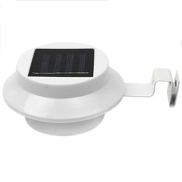 top power metal 2020 - Top-6Pack Outdoor Solar Gutter Led Lights - White Sun Power Smart Solar Gutter Night Utility Security Light cheap top po