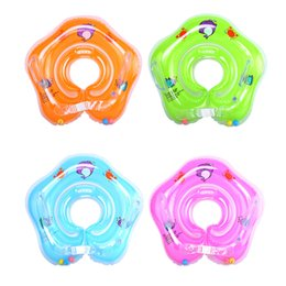 Wholesale Swimming Baby Pools Accessories Baby Inflatable Ring Neck Inflatable Wheels for Newborns Bathing Circle Safety Neck Float