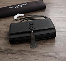 $enCountryForm.capitalKeyWord Australia - Brand Fashion Handbags Black Caviar Cowhide Clamshell Chain Bag Genuine Leather Crossbody Bag Totes Bags Handbags Purses Woman Gh-44