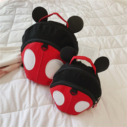 $enCountryForm.capitalKeyWord Australia - Baby Animal Fancy missing-proof Backpacks for infants children cute cartoon Beetle backpacks School Bags tour package