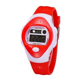 kids digital sports watch Australia - Delicate Children Girls LED Digital Watches Fashion Electronic Sport Student Kids Watch Child Simple WristWatch 2019 New@50
