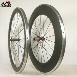 Wheels front carbon clincher online shopping - LEADXUS Full Carbon Wheels Alloy Braking Surface C mm mm mm mm Carbon Aluminium Alloy Wheels For Bicycle Wheels Many Hubs Choice