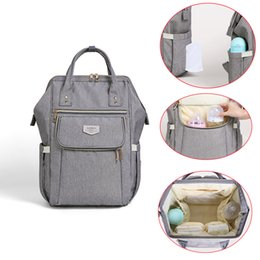 diaper care 2019 - Baby Diaper Bag Backpack Maternity Changing Multifunction Nappy Bag Waterproof Baby Care Stroller bolsa Infantil cheap d