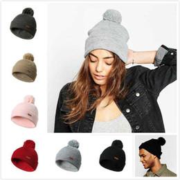 a8dec369d71 Winter Hats For Women Men Warm Casual Cotton Hat Crochet Slouchy Knit Baggy  Oversized Ski Beanie Hat Female Skullies Beanies