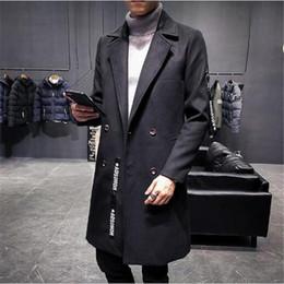 $enCountryForm.capitalKeyWord Canada - Nice Pop Style Of Woollen Fabrics Long Style Windbreaker Mens Korean Version Of Body Repair Jacket Plus Cotton B255-F22