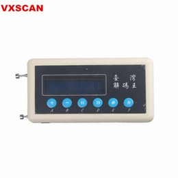 Wireless Connectors Australia - New 433Mhz Remote Control Code Scanner(copier) Car Key Remote Control Wireless Remote Key Code Scanner