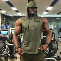 Mens Sleeveless Tank Tops Australia - Summer Style Mens Tank Tops Gyms Fitness Bodybuilding Sleeveless Undershirt Casual Fashion Stringer Vest Singlets Sportswear Q190522