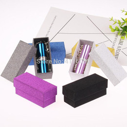 sale cosmetics box Australia - HOT SALE Glitter Colorful Cardboard Box Lipstick Cosmetic Perfume Bottle Packing Box Essential Oil Sample Packaging Box
