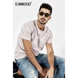 $enCountryForm.capitalKeyWord Australia - Simwood 2019 New Summer T Shirt Men Short Sleeve O-neck Print T-shirt Casual Tops Vintage Broken Brand Tees Male Camiseta 190071 J190528