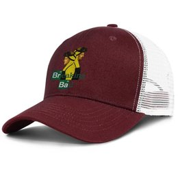 $enCountryForm.capitalKeyWord UK - 35BR 56 BA breaking bad burgundy mens and womens trucker cap ball cool designer sports hats