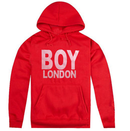 london boy hoodies NZ - Boy London Brand New Fashion Mens Designer Hoodies Mens High Quality Sweatshirts Men Women Couples Pullover Hoodie Long Sleeve