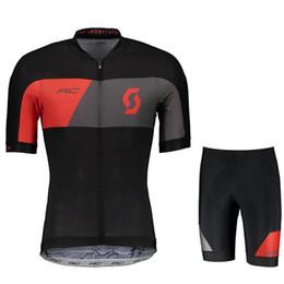 $enCountryForm.capitalKeyWord UK - scott team Cycling Tour de France Short Sleeves jersey shorts sets man MTB bike Clothes Lycra High quality Quick Dry Clothing Ropa Ciclismo