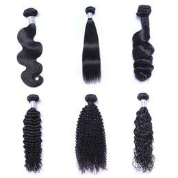 $enCountryForm.capitalKeyWord Australia - 8A Mink Brazillian Straight Body Loose Deep Wave Kinky Curly Unprocessed Brazilian Peruvian Indian Human Hair Weave Bundles