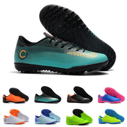 7c282332dc56 2019 New Mercurial Superfly VII CR7 Club Mens Soccer Shoes Football Cleats Cristiano  Ronaldo Generation TF IC FG ACC Soccer Boots Size 39-45