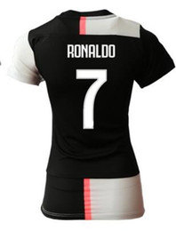 Discount cheap soccer jerseys shirt short - women Discount Cheap 19-20 Customized 7 Ronaldo Home Soccer Jerseys Shirt Tops,7 Cuadrado 33 Bernardeschi 14 Matuidi 9 H