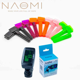 Guitar Electric Acoustic NZ - NAOMI 10PCS Guitar String Winder + NM-86 Guitar Tuner Strings Tuners Acoustic Electric Guitar Parts & Accessories New