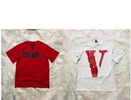 $enCountryForm.capitalKeyWord UK - Vlone T-Shirts Men Women High Quality Pop Up Papking Fragment Top Tees Fashion T Shirt V Friends Vlone T-Shirts