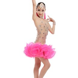 $enCountryForm.capitalKeyWord Australia - Sexy latin dresses for girls competition dance costume for kids salsa dancing dress girls latin salsa dress