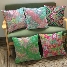 StarfiSh hotel online shopping - 9 Styles cm Starfish Pillow Covers Cushion Cover Geometric Pillowcase Cushion Cover Home Office Sofa Car Decoration CCA11582