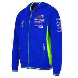 2018 MOTOGP chaqueta para el equipo Suzuki Ecstar Andrea Iannone 29 sudaderas con capucha Chaqueta de moto casual deportivo Sudaderas