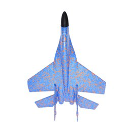 model aircraft carriers Australia - 42cm Kids Toys Hand Throwing Model Airplane Foam Aircraft Stunt Luminous Education Epp Glider Fighter Planes Toys For