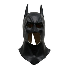$enCountryForm.capitalKeyWord Australia - Batman Masks Realistic Halloween Full Face Latex Batman Pattern Mask Costume Party Masks Carnival Cosplay Props