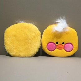 ancient coins NZ - 2 Colors Cute New 10cm Little Duck Plush Purse Kid's Plush Coin Bag Plush Coin Pouch