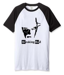 T Shirt Hip Hot Australia - Breaking Bad Print 2019 Summer Hot Men's T-shirts Cotton Brand Clothes T-shirt Streetwear Hip Hop Top Tee Harajuku Raglan Shirt