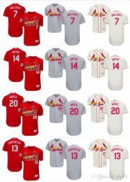 $enCountryForm.capitalKeyWord Australia - custom Men's Women Youth Majestic Cardinals Jersey 13 Matt Carpenter 7 Matt Holliday 20 Lou Brock 14 Ken Boyer l Home Baseball Jerseys
