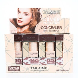 ConCealer perfeCtion online shopping - Light Concealer make your face beautiful cover perfection individually packaged oil makeup dry card powder