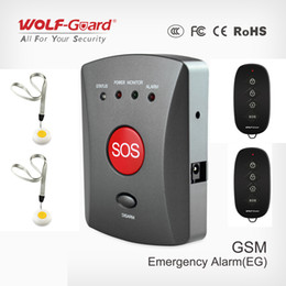 $enCountryForm.capitalKeyWord Australia - Wolf-Guard Wireless GSM SMS SOS Button Panel One Key Alarming Elder Children Emergency Remote SOS Button for Home Alarm Security System