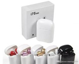 $enCountryForm.capitalKeyWord Australia - Big Sales Bluetooth Earphones wireless headphones mini i7s Tws Sport headsets Earbud Earphone Air Pods With Charging box For All Smart phone
