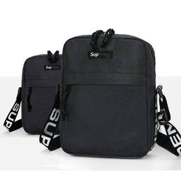 Plain hunting backPacks online shopping - Sup th Pack Chest Unisex Fanny Pack Fashion Waist Bag Men Canvas Hip Hop Belt Bag Men Messenger Bags ss Small Shoulder Bag A03