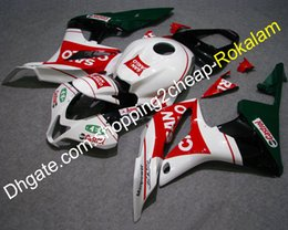 $enCountryForm.capitalKeyWord NZ - For Honda CBR600RR F5 2007 2008 CBR600 RR 600RR CBRF5 07 08 San Carlo Motorcycle Aftermarket Fairing Kit White Black Red (Injection molding)
