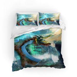 $enCountryForm.capitalKeyWord UK - 3D print Bedding set Dragon friends' presents gifts Duvet cover set Home Textiles