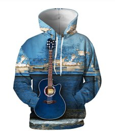 $enCountryForm.capitalKeyWord UK - Newest Guitar 3D Print Casual Hoodies Novelty Streetwear Hooded Women Men Hoodies Sweatshirts KM29