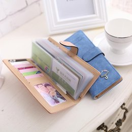 Army Wallets Australia - Fashion Wallet For Credit Cards Business Card Holder Card Wallets High Quality Leather Bags For Women 2018 Long Wallets