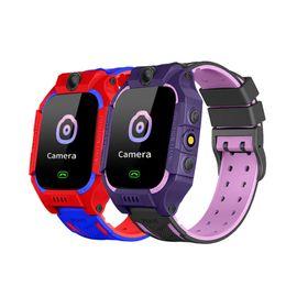 $enCountryForm.capitalKeyWord Australia - Z6 Children's Smart Watch SIM Card GSM GPRS GPS Tracker SOS Anti-lost Dial Call Camera Smart Wristband Alarm Clock For IOS Android