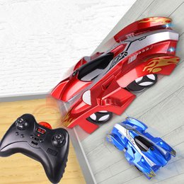$enCountryForm.capitalKeyWord Australia - 3 Colors Electric remote control wall climbing car wireless electric RC cars model toy Children driver up any smooth surface car