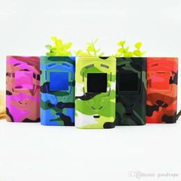 $enCountryForm.capitalKeyWord Australia - Goodvape est ProColor 225w Mod Ecigs Silicone Case Skin Cover Pouch Bag silica gel Protective shell for proColor 225w vape Mod free
