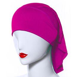 $enCountryForm.capitalKeyWord UK - Women Muslim Hijab Caps Soft Comfort Inner Islamic Under scarf Hats 20 Colors