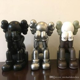 Limited Action Figures NZ - The New Products Kaws Original Color Doll Limited Hand Do Model Doll Toy Trend Around Original Fake Action Figure Collection Doll