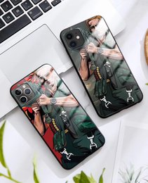 cell phone mirror cover NZ - Warrior Pattern Back Cover Shockproof Tempered Glass Cell Phone Case Mirror Protective Cover For iPhone 11 Pro MAX X XR XS MAX 6 6S 7 8 PLUS