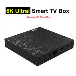 $enCountryForm.capitalKeyWord Australia - 4G32G Allwinner H6 Android TV Box Quad Core Smart Mini PC 6K Ultral HD Streaming Media Player 2.4G Wifi Android8.1 TVbox 4GB 32GB